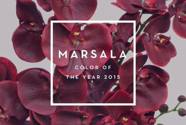 Marsala - color of the  year 2015! | Fashion Bride