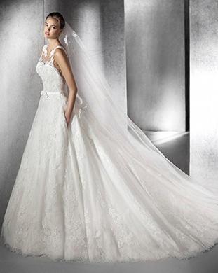 Свадебные платья-сан патрик